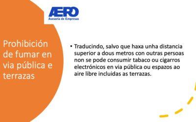 Medidas de prevención fronte ó coronavirus en Galicia (Agosto 2020)