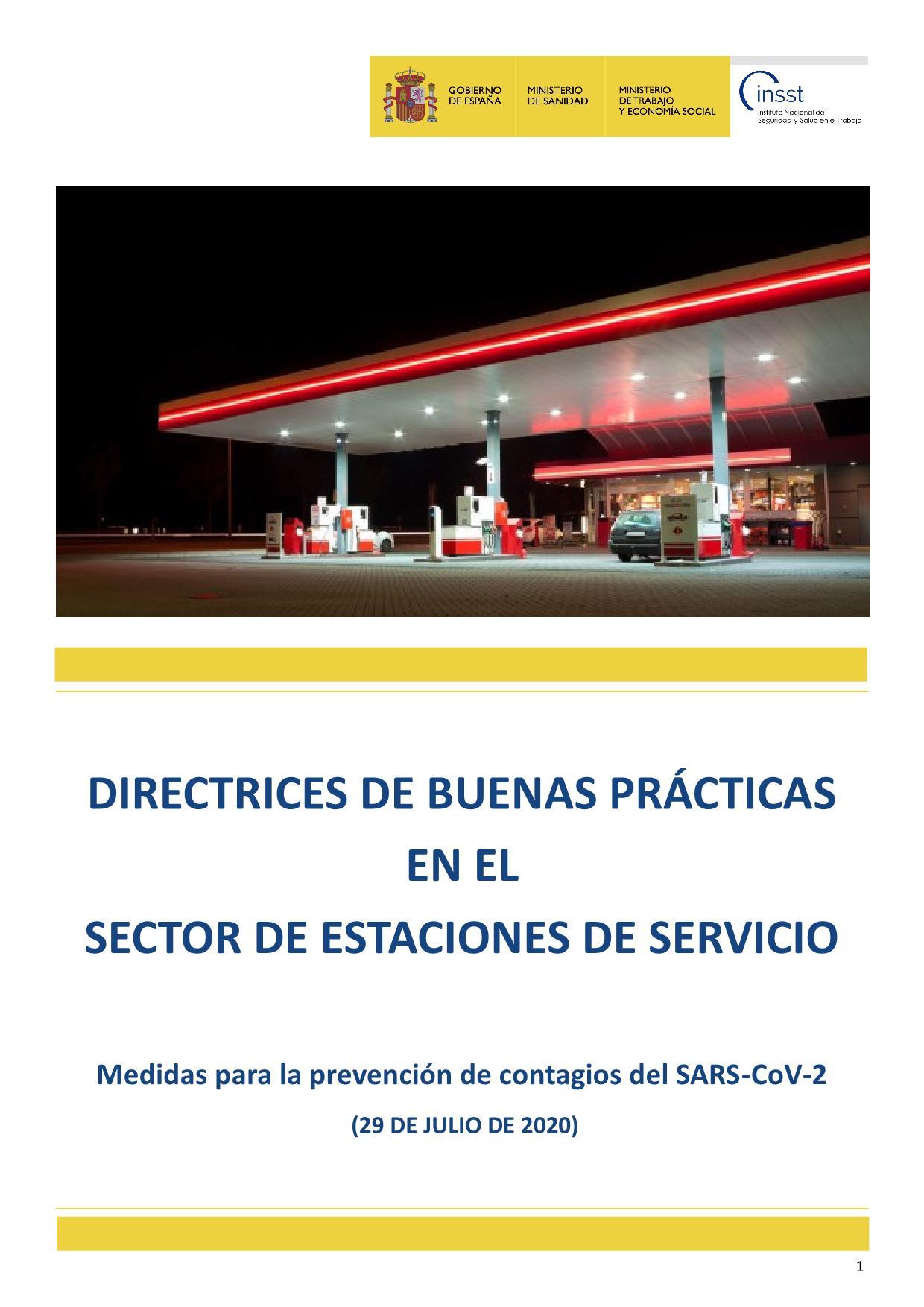 Directrices de buenas prácticas en el Sector Estaciones de Servicio_1