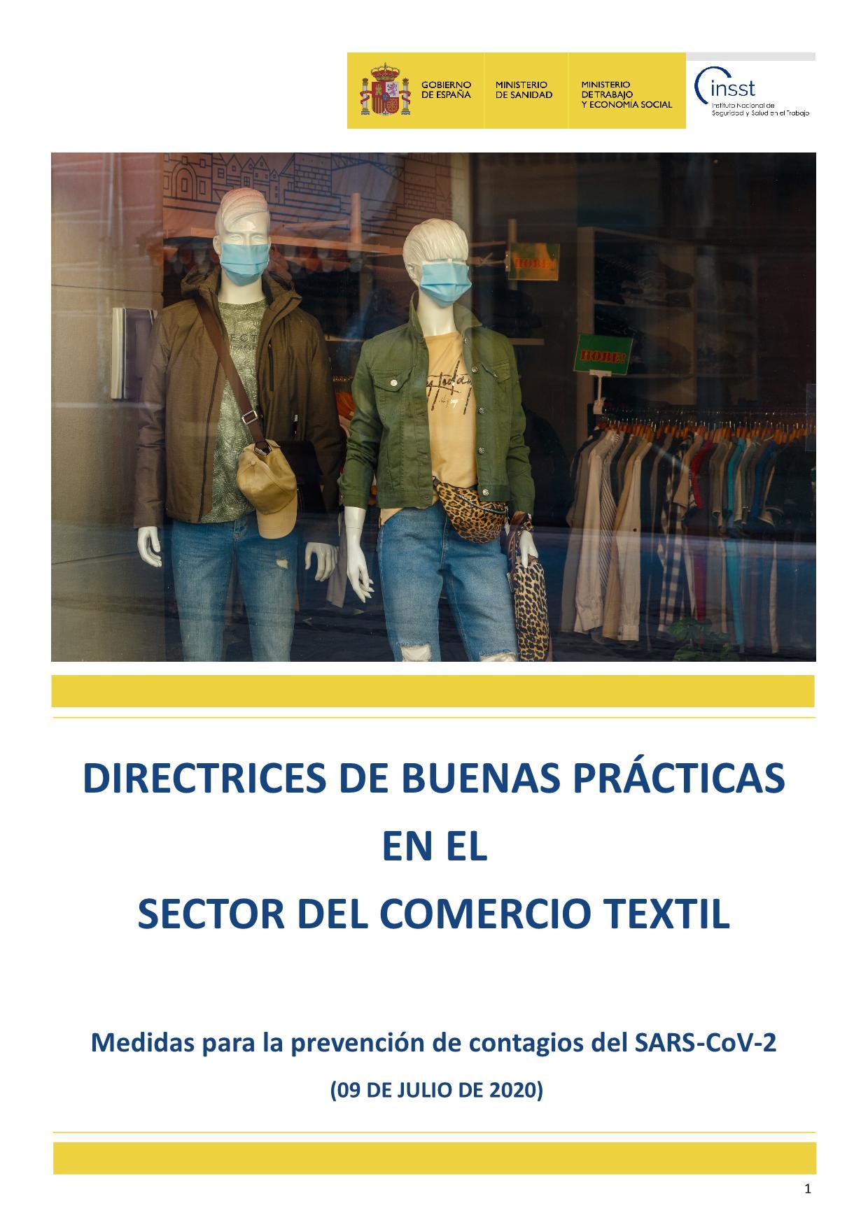 Directrices de buenas prácticas en el Sector del Comercio Textil_1