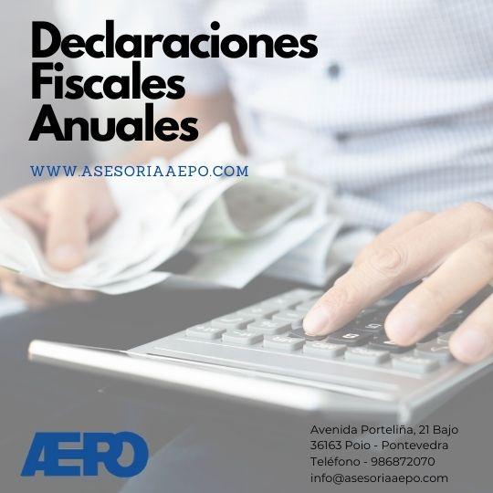 Asesoria Aepo Declaraciones fiscales anuales