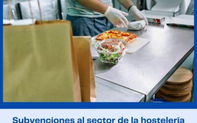 Subvenciones al sector de la hostelería